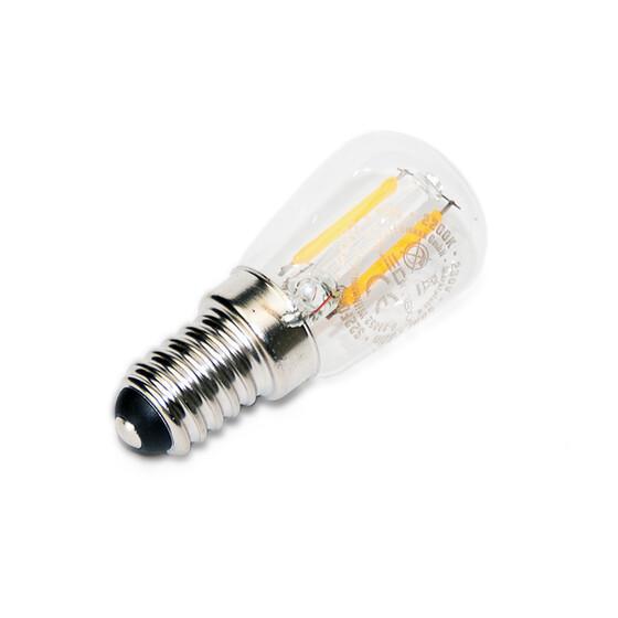 LED E14 T26 x 60mm Röhre 1W Filament  220V 2200K