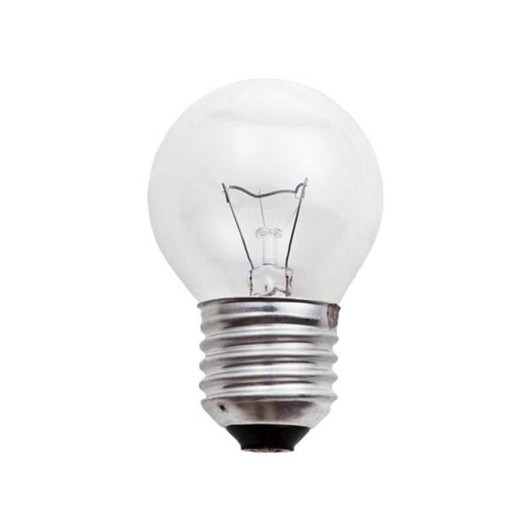 E27 Tropfen Glühbirne klar Glas 7W