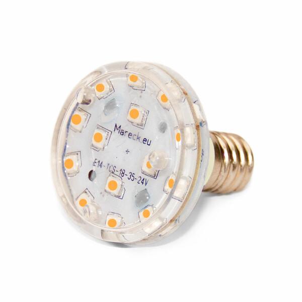 LED E14 XT18-37 24V warmweiss (WW)