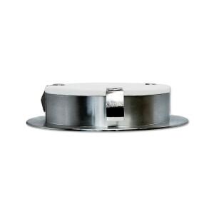 LED Möbeleinbauleuchte 3,5W 230V 35° warmweiß 2700K 250lm Ø82mm rund