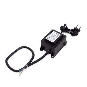Trafo outdoor voll vergossen 24V IP65 (2m Leitung mit...