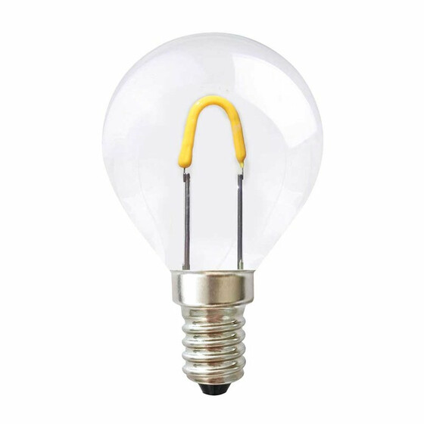 LED E14 LEDmaxx Curved Filament Tropfen 0,7W 65lm 2400K