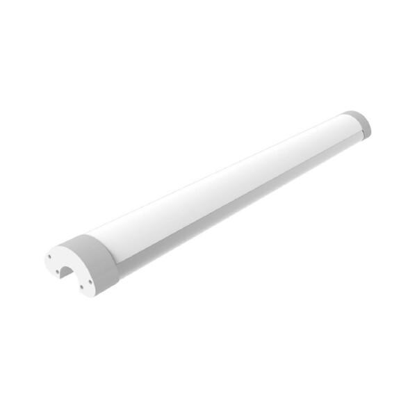 LED Linear Tri-Proof Unterbauleuchte 220V 3000K IP65 2400lm 20W / 63cm