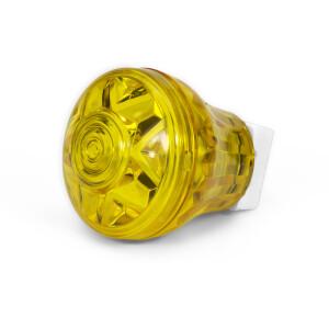 Eco Kappe komplett E10 mit Völz Fassung gelb