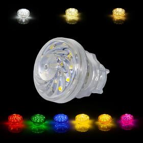 LED 24 SMD (18+6) Einbaucap einfarbig 1,5W 220V 45mm IP44