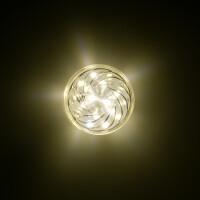 LED 24 SMD (18+6) Einbaucap einfarbig 1,5W 220V 45mm IP44 warmweiß