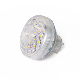 LED 35 SMD (30+5) Einbaucap 2W 220V 60mm IP44 mandelweiß