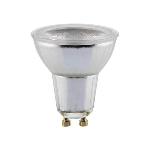 LEDmaxx LED Premium Glas Reflektor GU10 7W 500lm warmweiß 2700K dimmbar