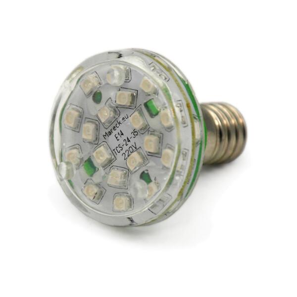 LED E14 XT24-37 220V grün (G)