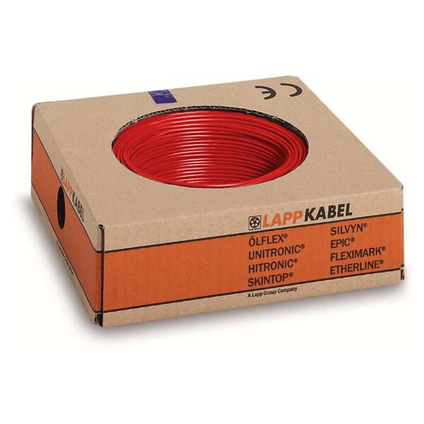 Lappkabel 1,5mm² 100m rot