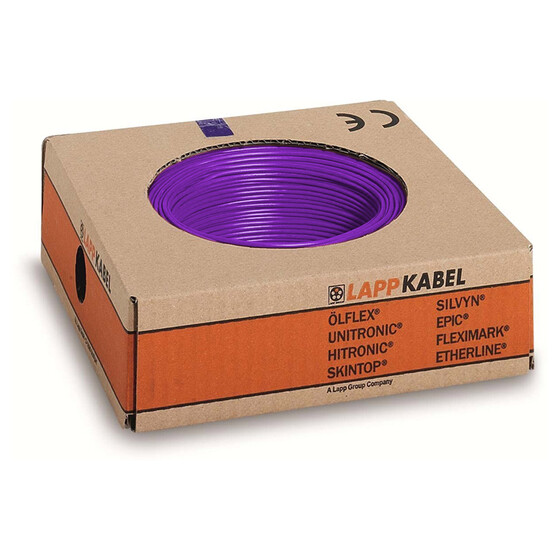 Lappkabel 1,5mm² 100m violett
